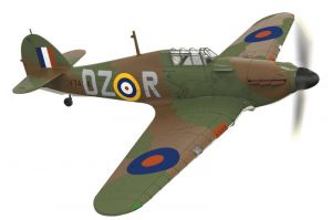 Corgi 1:72 - The Aviation Archive - Hawker Hurricane MkI V7434 DZR